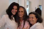 Lúcia Veríssimo, Bethânia e Dea Federico - Santo Amaro