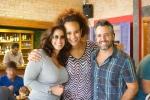 Lúcia Veríssimo, Luciana Mello e Ike Levy