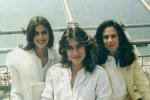 Lúcia Veríssimo, Maitê e Xuxa em Cannes 1982