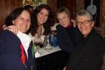 Leticia Bezerra de Mello, Lúcia Veríssimo, Denise Frossard e Giselda Lobato Santos